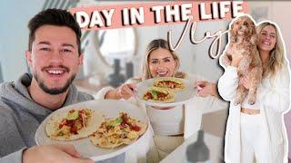 VLOG! Get Ready With Me & Healthy Meals in Quarantine