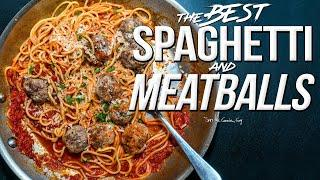 THE BEST SPAGHETTI AND MEATBALLS | SAM THE COOKING GUY 4K