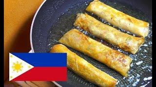 How to make Spring Rolls - Lumpiang Togue - Pinoy Recipes - Filipino Food - Easy Spring Rolls