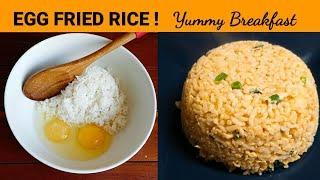 Egg Fried Rice Recipe / Korean Style / Simple and  Delicious