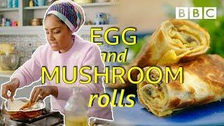 How to make lunch in 5 minutes!  - Nadiya's Time to Eat | BBC