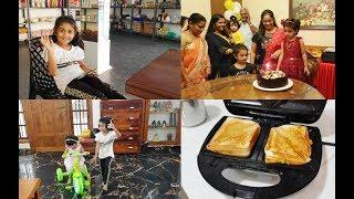 Saturday Vlog - Rakshanya Birthday Vlog - Potato Sandwich Recipe - YUMMY TUMMY VLOG