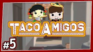 Taco Amigos - #5 - CHICKEN CHOPPER!! (4-Player Diner Bros Gameplay)