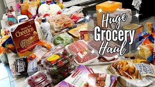 HUGE GROCERY HAUL // FAMILY OF 4 // CLEANING MOM
