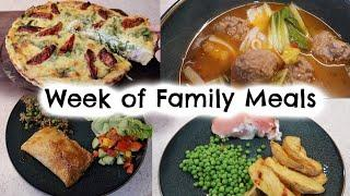 5 FAMILY MEAL IDEAS | WEEK OF FAMILY MEALS | KERRY WHELPDALE