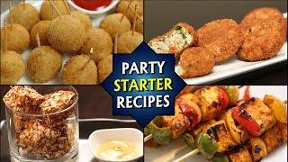 Party Snack Ideas - 6 BEST Finger Food Recipes for Party - Starters/Appetizers