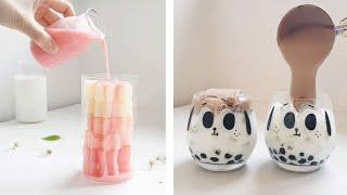 The most beautiful desserts and drinks in the world | Refreshing drinks