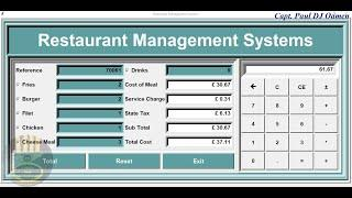 How to Develop Restaurant Management System in Python - Part 2 of 2