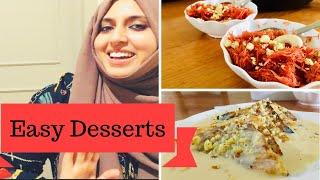 Easy Eid Desserts | Shahi Tukda | Shahi Sewai | First malayalam video