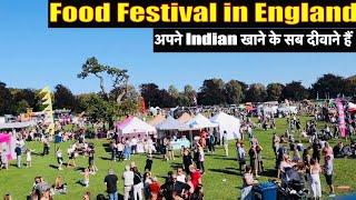 Why Indian Food Stalls in English Food Festival?| Sangwans Studio| Indian Youtuber in England
