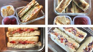 5 QUICK & EASY SANDWICH RECIPES FOR KIDS / OFFICE LUNCH BOX / INDIAN LUNCH BOX IDEAS