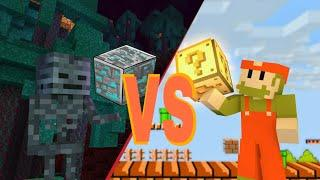 MONSTER SCHOOL : MINECRAFT VS SUPER MARIO - MINECRAFT ANIMATION