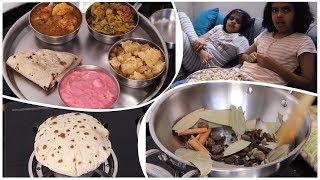 My Simple No Onion No Garlic Thali | Special Dinner Routine | Simple Dinner Recipes | hindi vlog