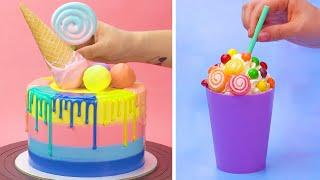 How to Make the Best Ever Rainbow Cake & Desserts Recipes | Easy DIY Cake Decorating Tutorial
