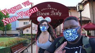 Hollywood Brown Derby Re-Opened | Vegan & non-vegan food review | Disney's Hollywood Studios