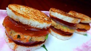 Easy Snacks Recipe | Easy Breakfast Recipe | Lunch Box Recipe | Burger Recipe | Aloo Tikki Burger