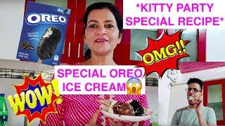 *KITTY PARTY SPECIAL* ICE CREAM STICKS WITH OREO BISCUITS AND CUTLETS !!!