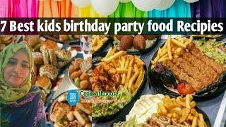 7 BIRTHDAY PARTY APPETIZER RECIPIES FOR TEENAGERS | QUICK AND EASY  BIRTHDAY PARTY FOOD RECIPIES