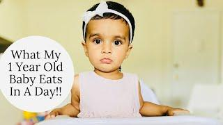 WHAT MY ONE YEAR OLD EATS IN A DAY!! Baby-Led Weaning Recipes~ONE YEAR OLD BABY FULL DAY ROUTINE
