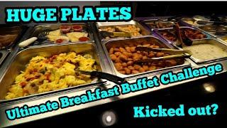 Ultimate Breakfast Buffet Challenge |Dubois Diner|Andy Puhl|HUGE PLATES