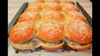 Pull-Apart BEEF SLIDERS | A MUST TRY Delicious Recipe!