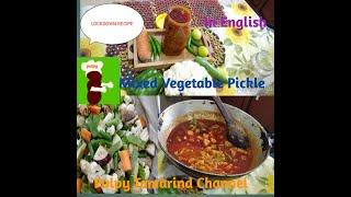 Mixed Vegetables Pickle in English #pulpytamarindchannel