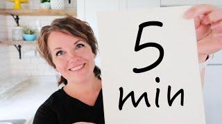 The 5 Minute Reverse Meal Plan! (& why I always failed at this in the past!)