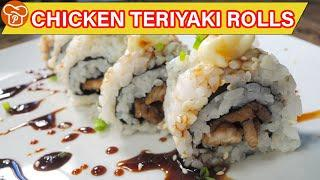 How to Make Chicken Teriyaki Rolls | Must-Try | Pinoy Easy Recipes