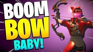 I just got a BOOM BOW BABY! Fortnite Save the World PvE