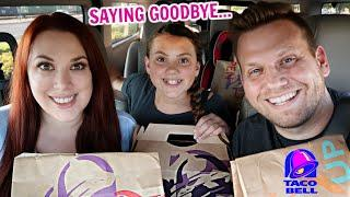 TRYING ALL THE DISCONTINUED MENU ITEMS FROM TACO BELL!