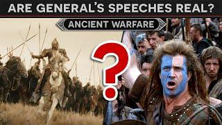 Are General's Speeches Real? DOCUMENTARY