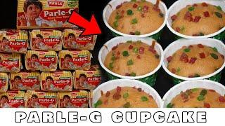 EASY PARLE-G CUPCAKE RECIPE UNDER 5 MINUTES AT HOME WITHOUT OVEN | Lockdown Recipes