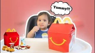 BABY CHASE REACTS TO HIS FIRST MCDONALDS HAPPY MEAL! | LIFE WITH THE SUBBIES