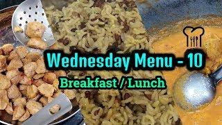 Wednesday Menu 10 / My Morning Working day Cooking Routine !!