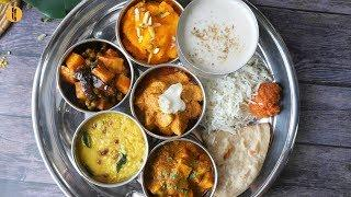 7 Special Thali Recipes By Food Fusion