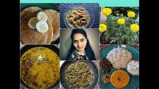 Healthy Oats & banana Pancakes | Quick & Yummy Lunch Recipes in Telugu | Telugu Vlogs in USA