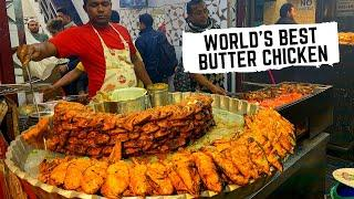 WORLD'S BEST butter chicken- you ain't seen anything like this DELHI, India | Delhi street food tour