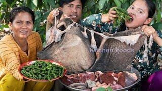 Farmer Foods: Fried Cow Belly With Fresh Green Peppercorn Recipe - Eating and Sharing Foods