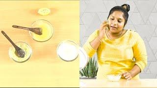 Remove Facial Hair Permanently at Home  || skin whitening Beauty Tips in Tamil ||  Jessie Evangelin