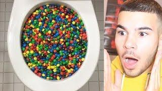 Will it Flush? - M&M's And More!