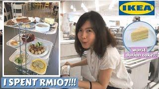 EP13: Brunch at Malaysia's Ikea! Durian desserts???