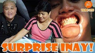SURPRISE KAY INAY at PAGBALIK BRACES NI BABY BOY! | VLOG #235