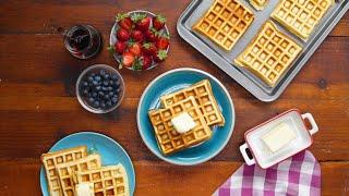 How To Make The Ultimate Waffle • Tasty Recipes