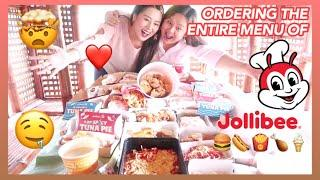 ORDERING THE ENTIRE MENU OF JOLLIBEE (COMEBACK VLOG OF MOMMY MYRA!!