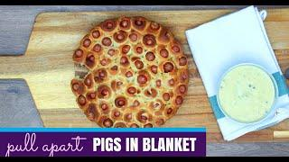 Appetizer Recipes -Pull Apart Pigs in a Blanket Recipe for Parties