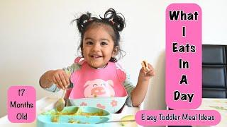 What my 17 Months Old Baby Eats in a Day | Easy Toddler Meal Ideas for 1-2 Years-old Baby