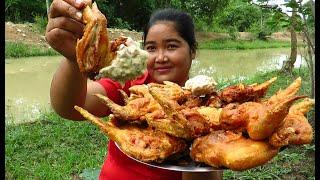Yummy Cooking  Chicken wings  recipe & My Cooking skill