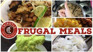 $1 Meals | Chipotle at HOME! | Healthy, Affordable Frugal Family Favorites