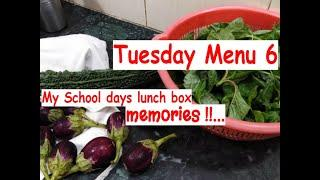 Tuesday Menu 6 | Lunch box memories with Appa !! - Healthy & Different Menu Ideas with Simple Tips