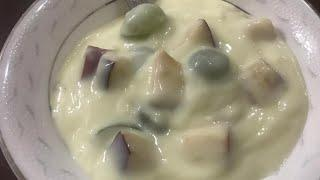 How to make Quick and healthy desert | easy cooking | fruit custard  | Hostel/pg/bachelor cooking